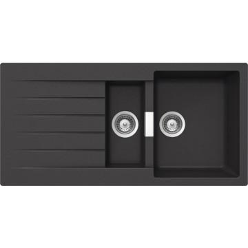 schock primus d 150 cristalite nero granitov d ez horn mont schock moje spot ebi e. Black Bedroom Furniture Sets. Home Design Ideas