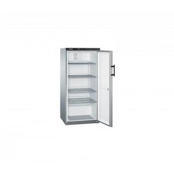 Profesionální chlazení - Liebherr GKvesf 5445 obsah 544 l, stříbrné boky, nerezové dveře