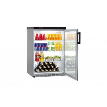 Profesionální chlazení - Liebherr FKvesf 1803 obsah 180 l, analogový ukazatel teploty, stříbrná