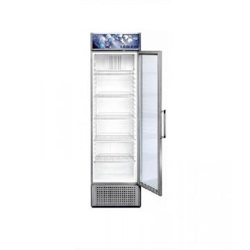 Profesionální chlazení - Liebherr FKDv 3713 obsah 366 l, LED osvětlení, stříbrná