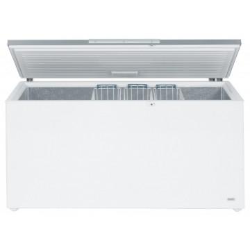 Profesionální chlazení - Liebherr GTL 6106 obsah 601 l, nerezové výklopné víko, zámek, 3 koše