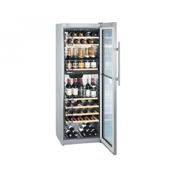 Volně stojící spotřebiče - Liebherr WTpes 5972 temperovaná vinotéka, 2 nezávislé teplotní zóny, nerez
