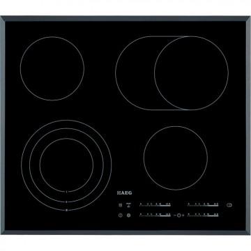 Vestavné spotřebiče - AEG Mastery HK654070FB elektrická varná deska se zkosenou hranou, černá, šířka 58 cm