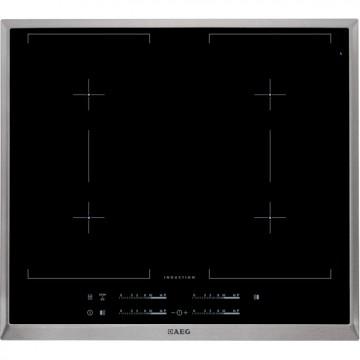 Vestavné spotřebiče - AEG Mastery HK654400XB indukční varná deska s rámečkem, černá, šířka 58 cm