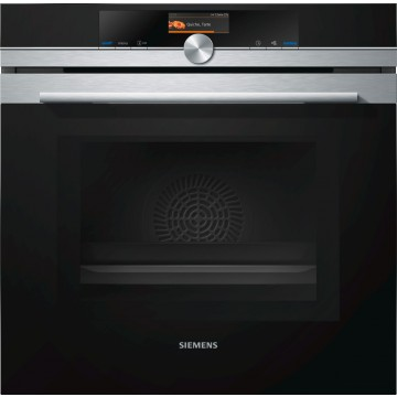 Vestavné spotřebiče - Siemens HM676G0S1 vestavná trouba s mikrovlnami, nerez
