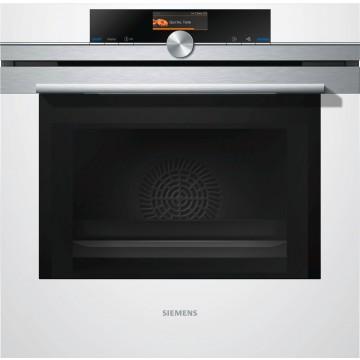 Vestavné spotřebiče - Siemens HM676G0W1 vestavná trouba s mikrovlnami, bílá