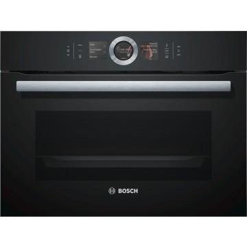 Vestavné spotřebiče - Bosch CSG656RB1 kompaktní parní trouba, černá