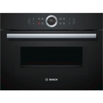 Vestavné spotřebiče - Bosch CMG633BB1 kompaktní trouba s mikrovlnami, černá