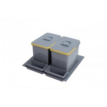 Odpadkové koše - Sinks PRACTIKO 600 2x12l