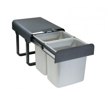 Odpadkové koše - Sinks EKKO 40 2x16l