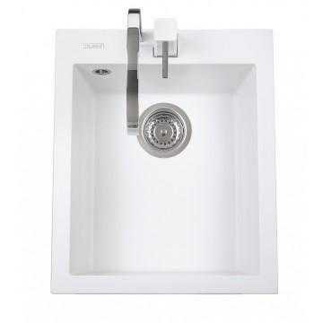Kuchyňské dřezy - Sinks CUBE 410 Milk