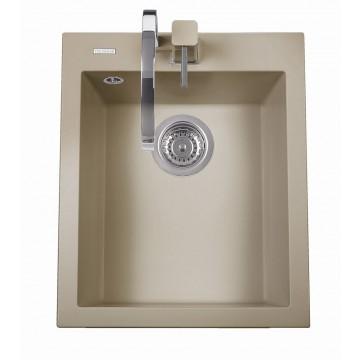 Kuchyňské dřezy - Sinks CUBE 410 Truffle