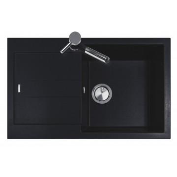 Kuchyňské dřezy - Sinks AMANDA 780 Granblack