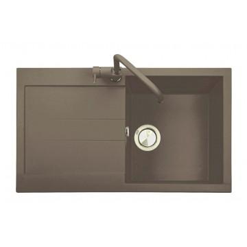 Kuchyňské dřezy - Sinks Sinks AMANDA 860 Truffle