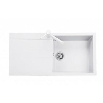 Kuchyňské dřezy - Sinks AMANDA 990 Milk