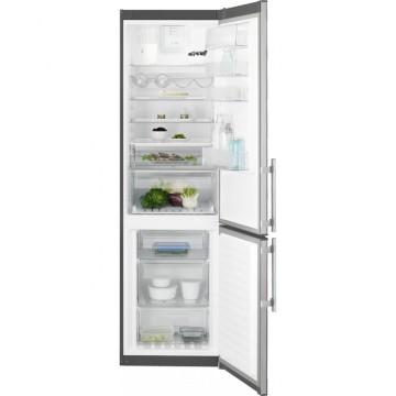 Volně stojící spotřebiče - Electrolux EN3854NOX volně stojící kombinovaná chladnička