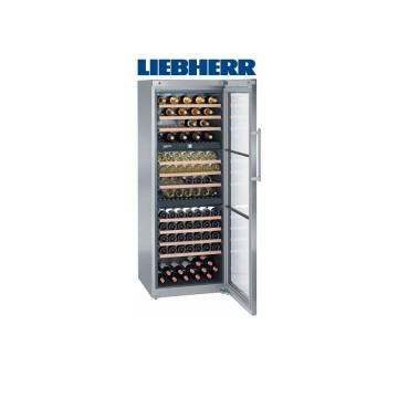 Volně stojící spotřebiče - Liebherr WTes 5872 temperovaná vinotéka, 3 nezávislé teplotní zóny, nerez - 5 let záruka