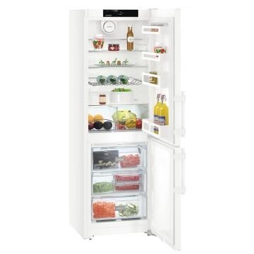 Volně stojící spotřebiče - Liebherr CN 3515 kombinovaná chladnička, NoFrost, bílá