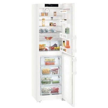 Volně stojící spotřebiče - Liebherr CN 3915 kombinovaná chladnička, NoFrost, bílá, A++ - 5 let záruka
