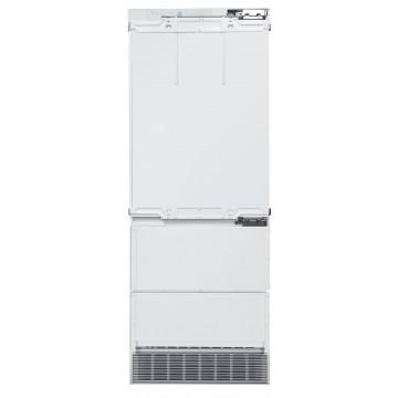 Vestavné spotřebiče - Liebherr ECBN 5066 kombinovaná vestavná chladnička, bílá, panty vlevo