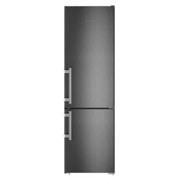 Volně stojící spotřebiče - Liebherr CNbs 4015 kombinovaná chladnička, NoFrost, BlackSteel
