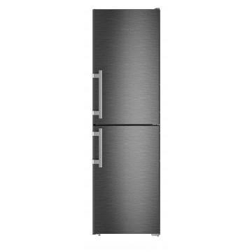 Volně stojící spotřebiče - Liebherr CNbs 3915 kombinovaná chladnička, NoFrost, BlackSteel