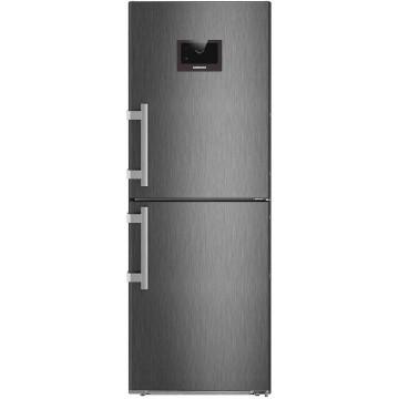 Volně stojící spotřebiče - Liebherr CNPbs 3758 kombinovaná chladnička, NoFrost, BlackSteel
