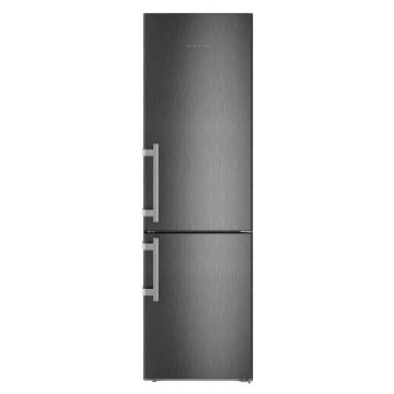 Volně stojící spotřebiče - Liebherr CBNbs 4815 kombinovaná chladnička, NoFrost, BioFresh, BlackSteel