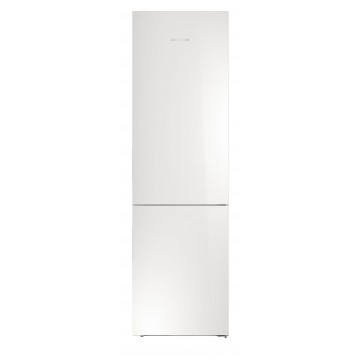 Volně stojící spotřebiče - Liebherr CBNPgw 4855 kombinovaná chladnička, BioFresh, NoFrost, skleněné bílé dveře