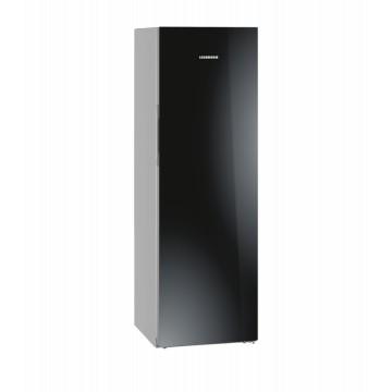 Volně stojící spotřebiče - Liebherr KBPgb 4354 kombinovaná chladnička, BluPerformance, černé sklo