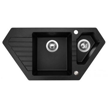 Zvýhodněné sestavy spotřebičů - Set Sinks BRAVO 850.1 Granblack+MIX 350P