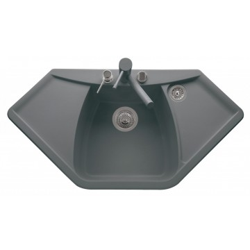 Zvýhodněné sestavy spotřebičů - Set Sinks NAIKY 980 Titanium+CAPRI 4S GR