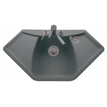 Zvýhodněné sestavy spotřebičů - Set Sinks NAIKY 980 Titanium+MIX 35 GR