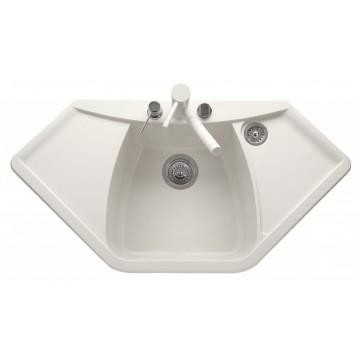 Kuchyňské dřezy - Sinks NAIKY 980 Milk