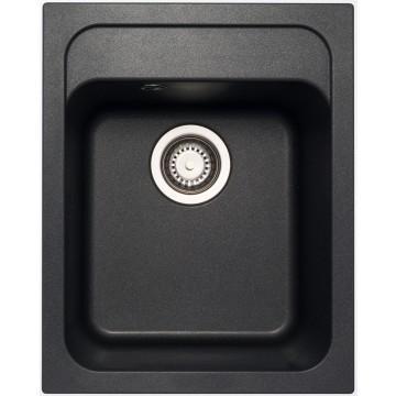 Zvýhodněné sestavy spotřebičů - Set Sinks CLASSIC 400 Metalblack+CAPRI 4 GR