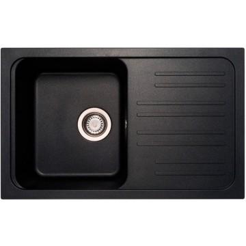 Zvýhodněné sestavy spotřebičů - Set Sinks CLASSIC 740 Metalblack+CAPRI 4 GR