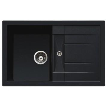 Zvýhodněné sestavy spotřebičů - Set Sinks CRYSTAL 780 Metalblack+CAPRI 4 GR