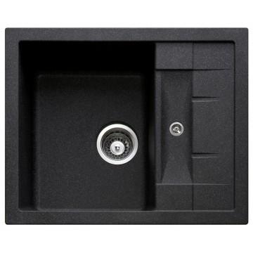 Zvýhodněné sestavy spotřebičů - Set Sinks CRYSTAL 615 Granblack+CAPRI 4 GR