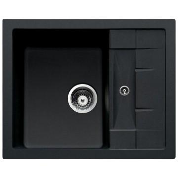 Zvýhodněné sestavy spotřebičů - Set Sinks CRYSTAL 615 Metalblack+CAPRI 4 GR