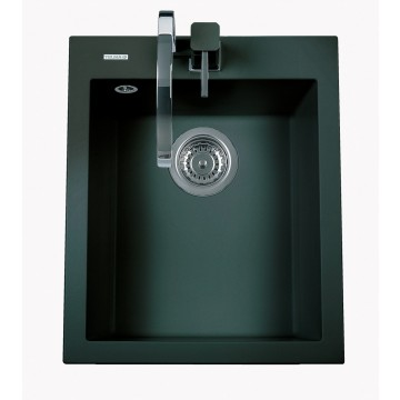 Zvýhodněné sestavy spotřebičů - Set Sinks CUBE 410 Metalblack+CAPRI 4 GR
