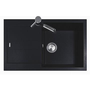 Zvýhodněné sestavy spotřebičů - Set Sinks AMANDA 780 Metalblack+CAPRI 4S GR