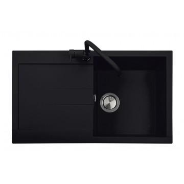 Zvýhodněné sestavy spotřebičů - Set Sinks AMANDA 860 Metalblack+CAPRI 4S GR