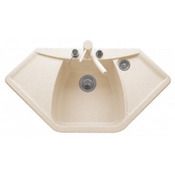 Zvýhodněné sestavy spotřebičů - Set Sinks NAIKY 980 Avena+CAPRI 4S GR
