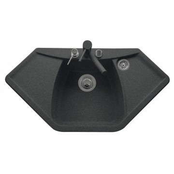 Zvýhodněné sestavy spotřebičů - Set Sinks NAIKY 980 Granblack+CAPRI 4S GR