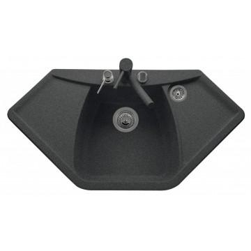 Zvýhodněné sestavy spotřebičů - Set Sinks NAIKY 980 Granblack+MIX 3P GR