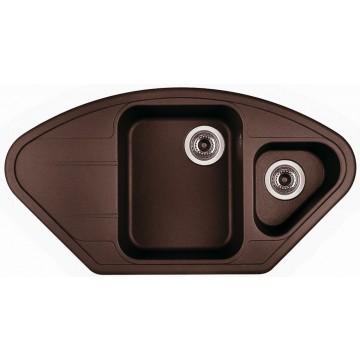 Zvýhodněné sestavy spotřebičů - Set Sinks LOTUS Marone+CAPRI 4S GR