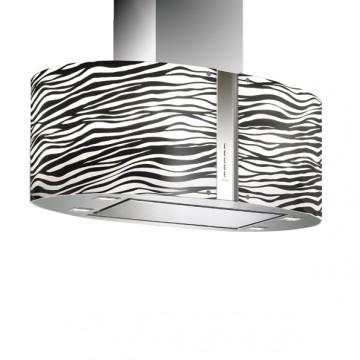 Vestavné spotřebiče - Falmec ZEBRA/LED MIRABILIA Island - ostrůvkový odsavač, 85 cm, 800 m3/h