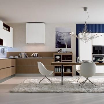 Vestavné spotřebiče - Falmec LAGUNA DESIGN Wall - nástěnný odsavač, šířka 60 cm, bílá, 800 m3/h