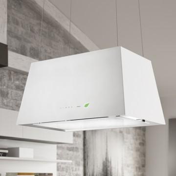 Vestavné spotřebiče - Falmec LUMIERE E-ION Wall - nástěnný odsavač, 67 cm, bílý, 450 m3