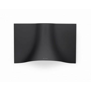 Vestavné spotřebiče - Faber VEIL BK A90  - komínový odsavač, nerez / černá mat, šířka 90cm